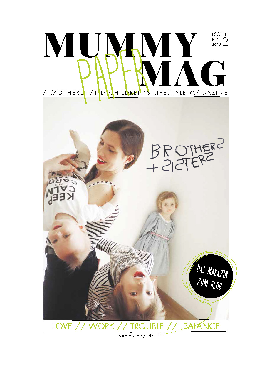 "Mummy Mag Cover / Issue 2 ""Brothers & Sisters"""