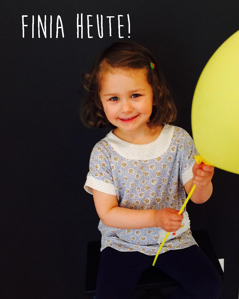 Geburtsgeschichte von Fina - heute ist sie drei Jahre alt
