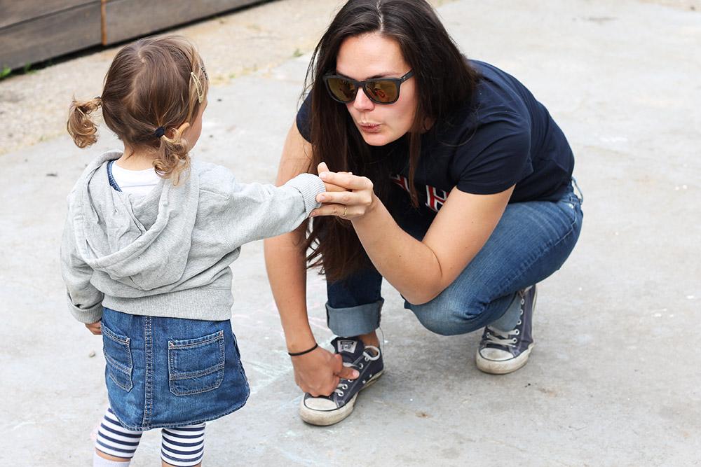 Sonntagsoutfit <br> #likemotherlikedaughter