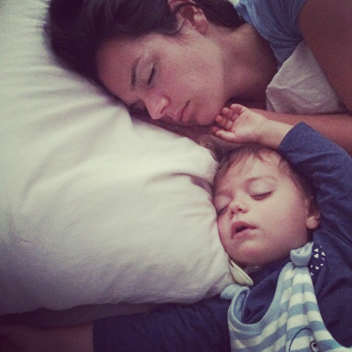 Kolumne, Familienbett und Schlafchaos