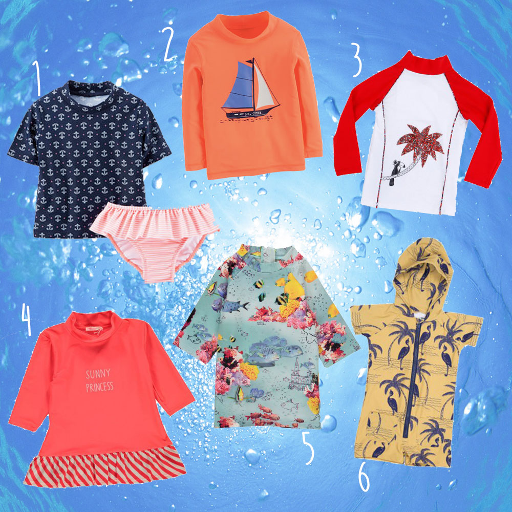 Badekleidung, UV-Schutzkleidung, Kinder, Sommer