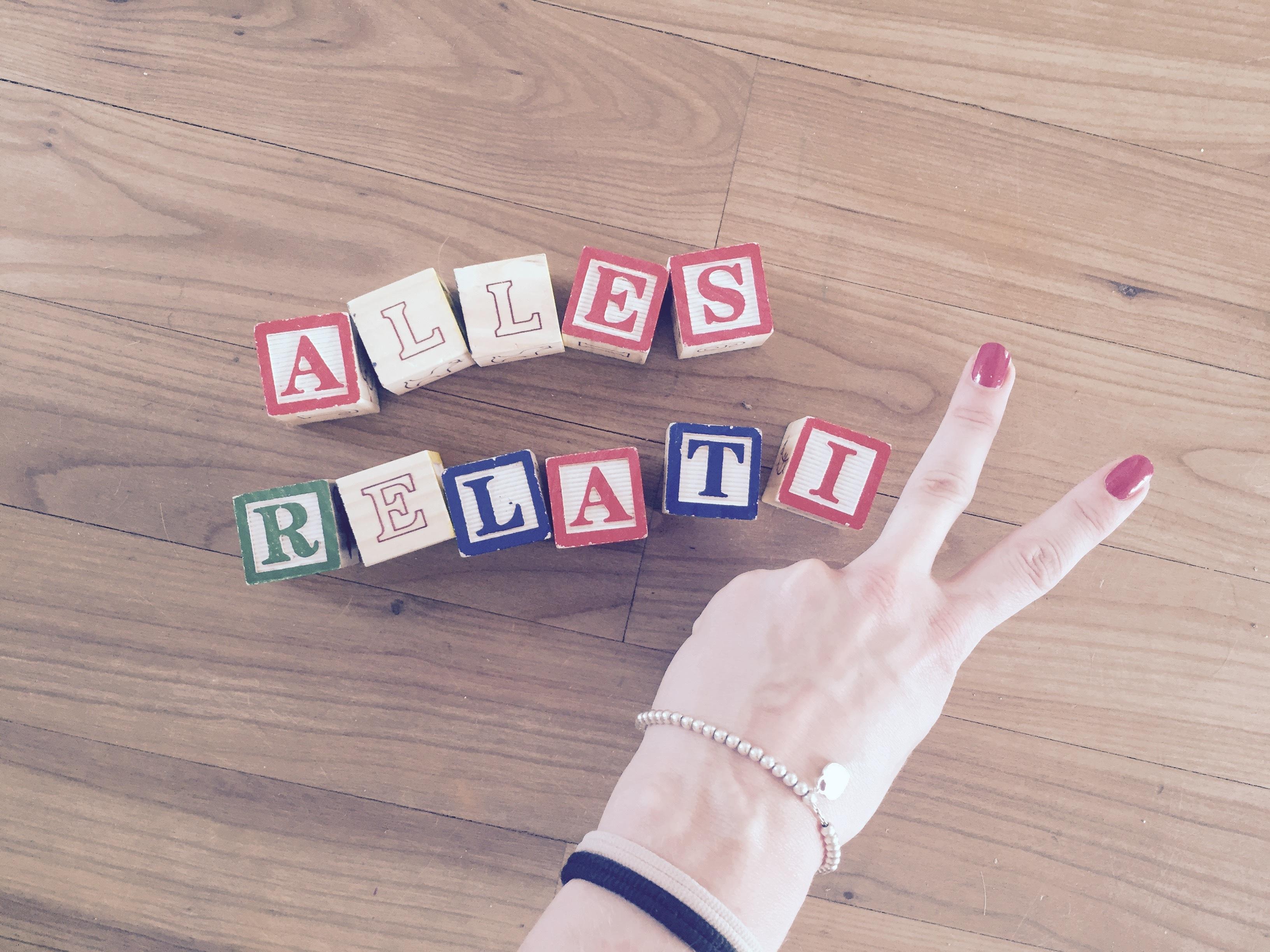 R wie Relativierungstheorie beim ABC von Mummy Mag