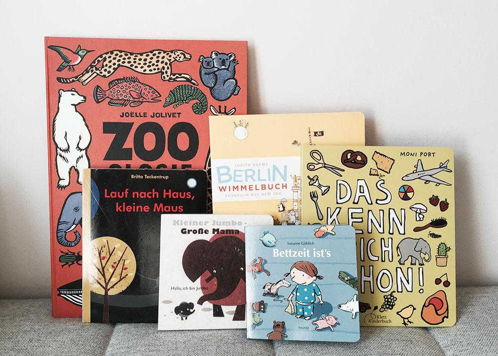 Lieblingsbücher Helene, Kinderbücher, 2 Jahre