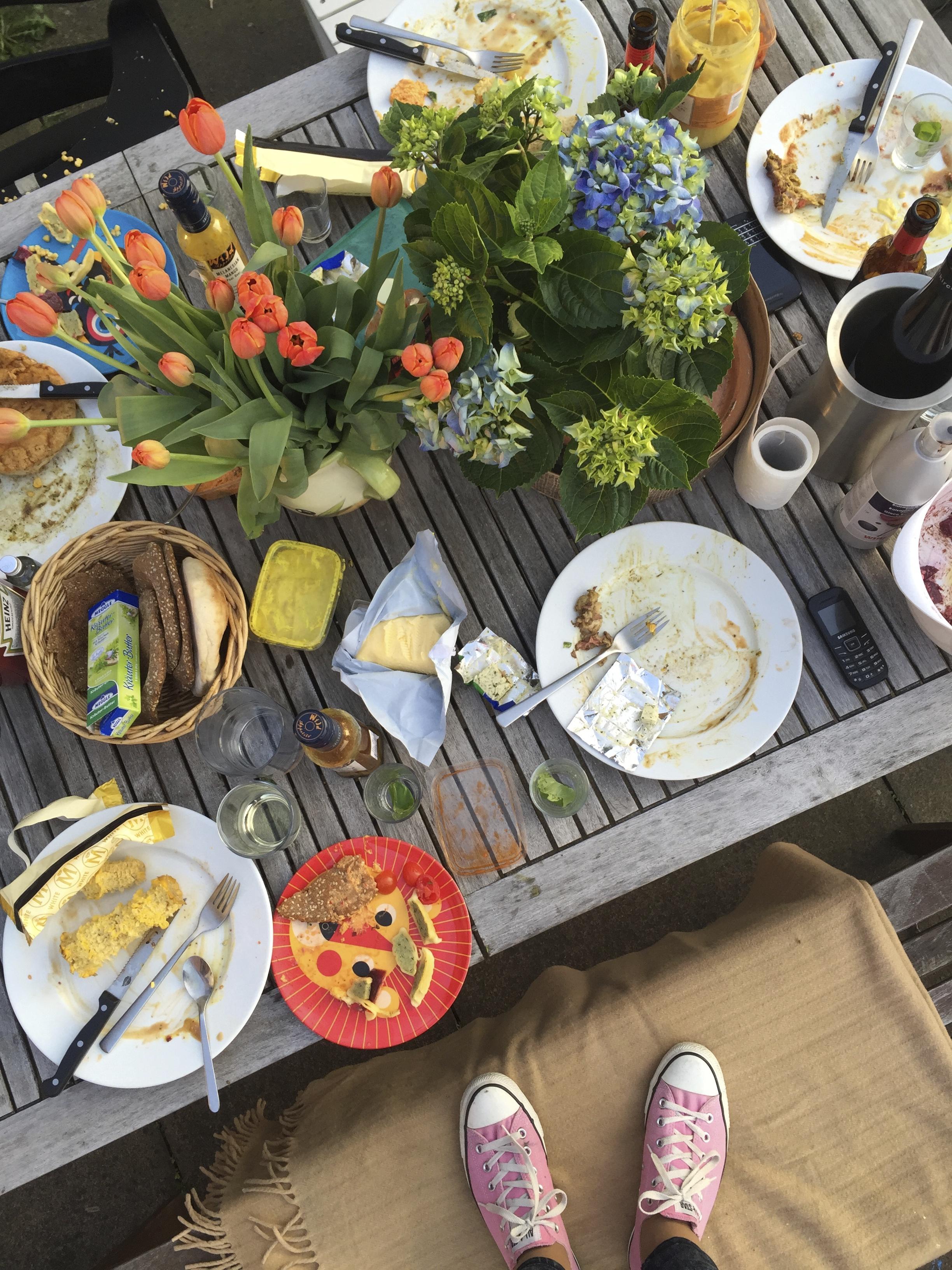 Grillparty auf Balkonien bei Mummy Mag