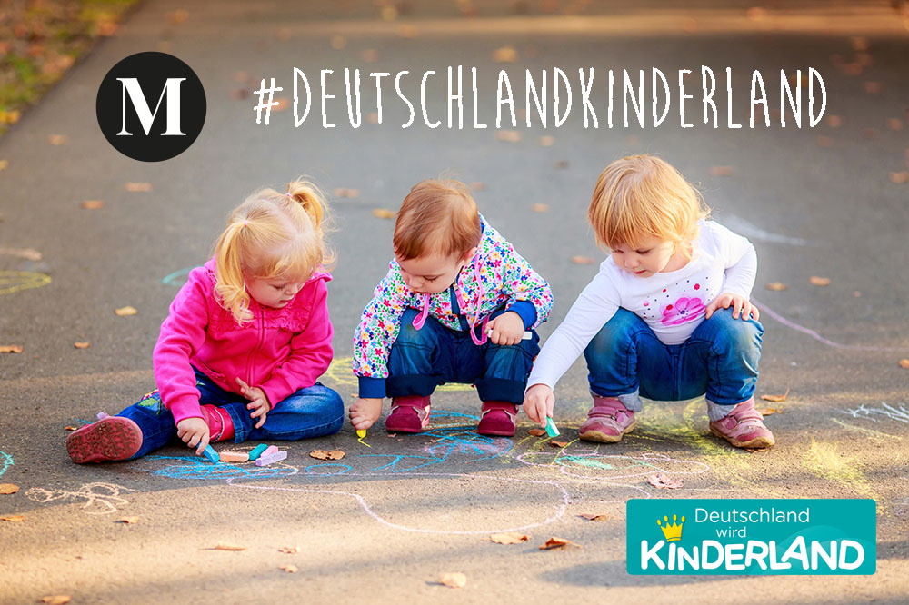 "Pampers ""Deutschland wird Kinderland"" Initiative"