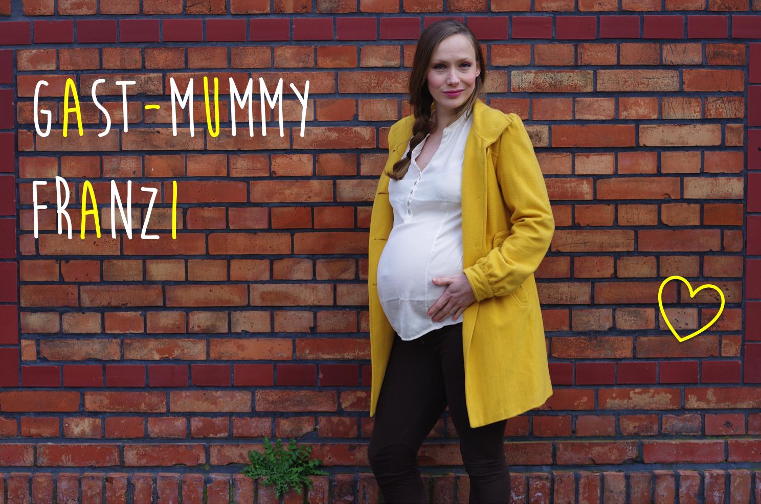 Gast-Mummy Franzi hochschwanger bei The Day That auf Mummy Mag