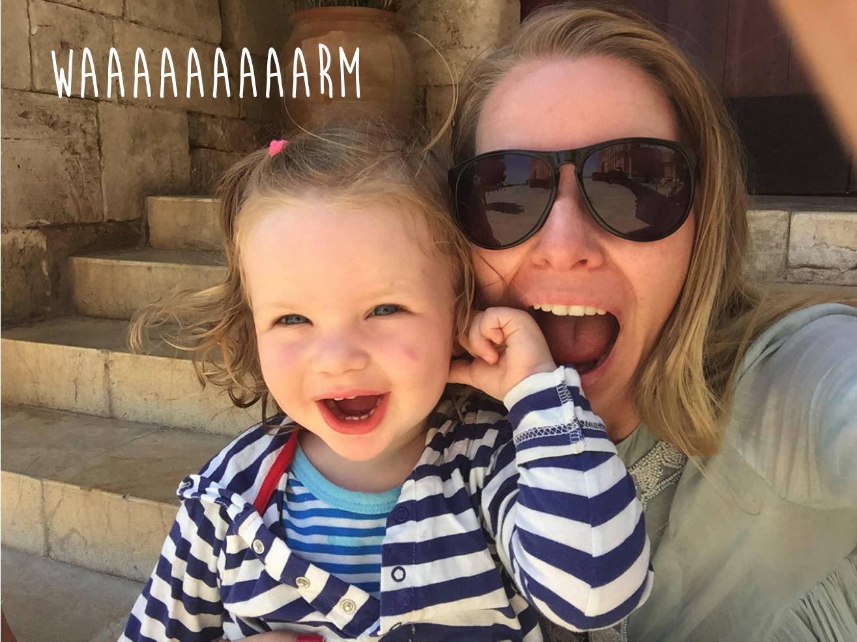 Hitzeschock in Palma bei 35 Grad im Schatten bei Travel with Kids auf Mummy Mag