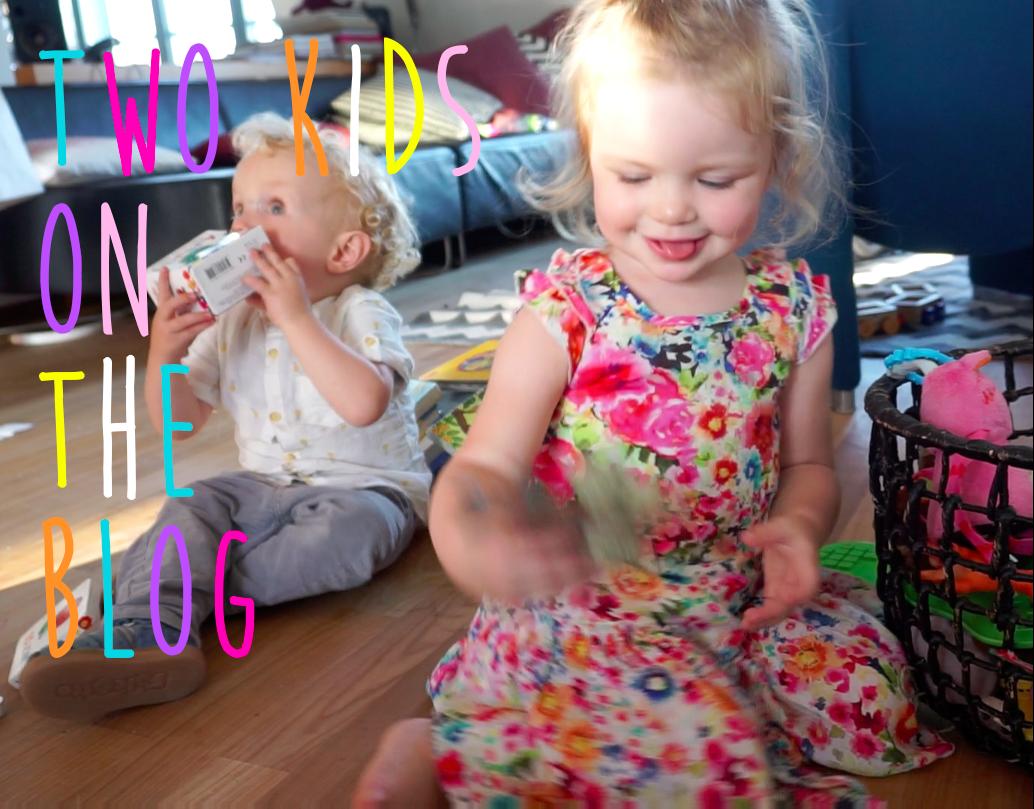 Two Kids On The Blog - Philo und Izzy werden zwei und Mummy Mag ist dabei