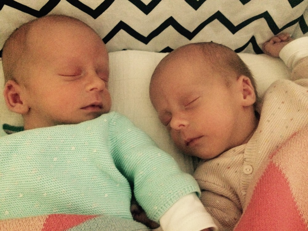 The day that…  Ella & Leon were born