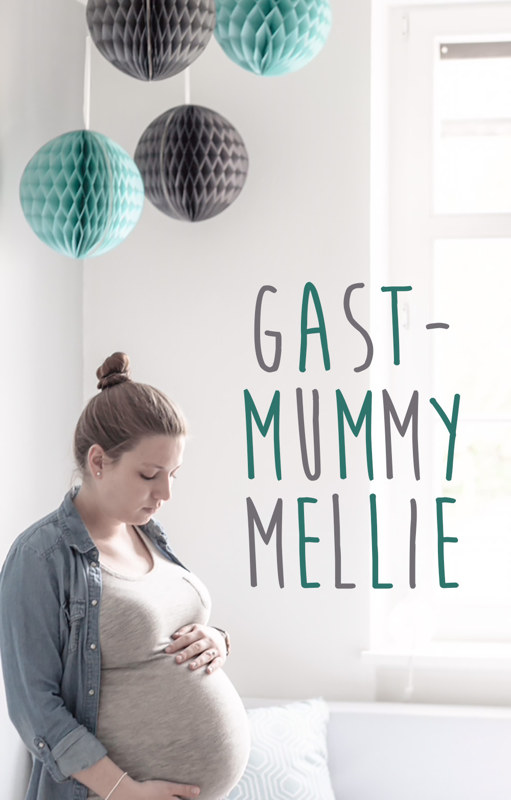 Gast-Mummy Mellie, Geburtsbericht, Schwangerschaft