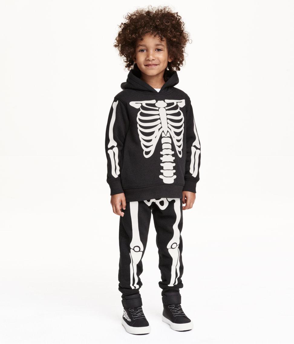 H&M Skelett-Kostüme für Halloween auf Mummy Mag