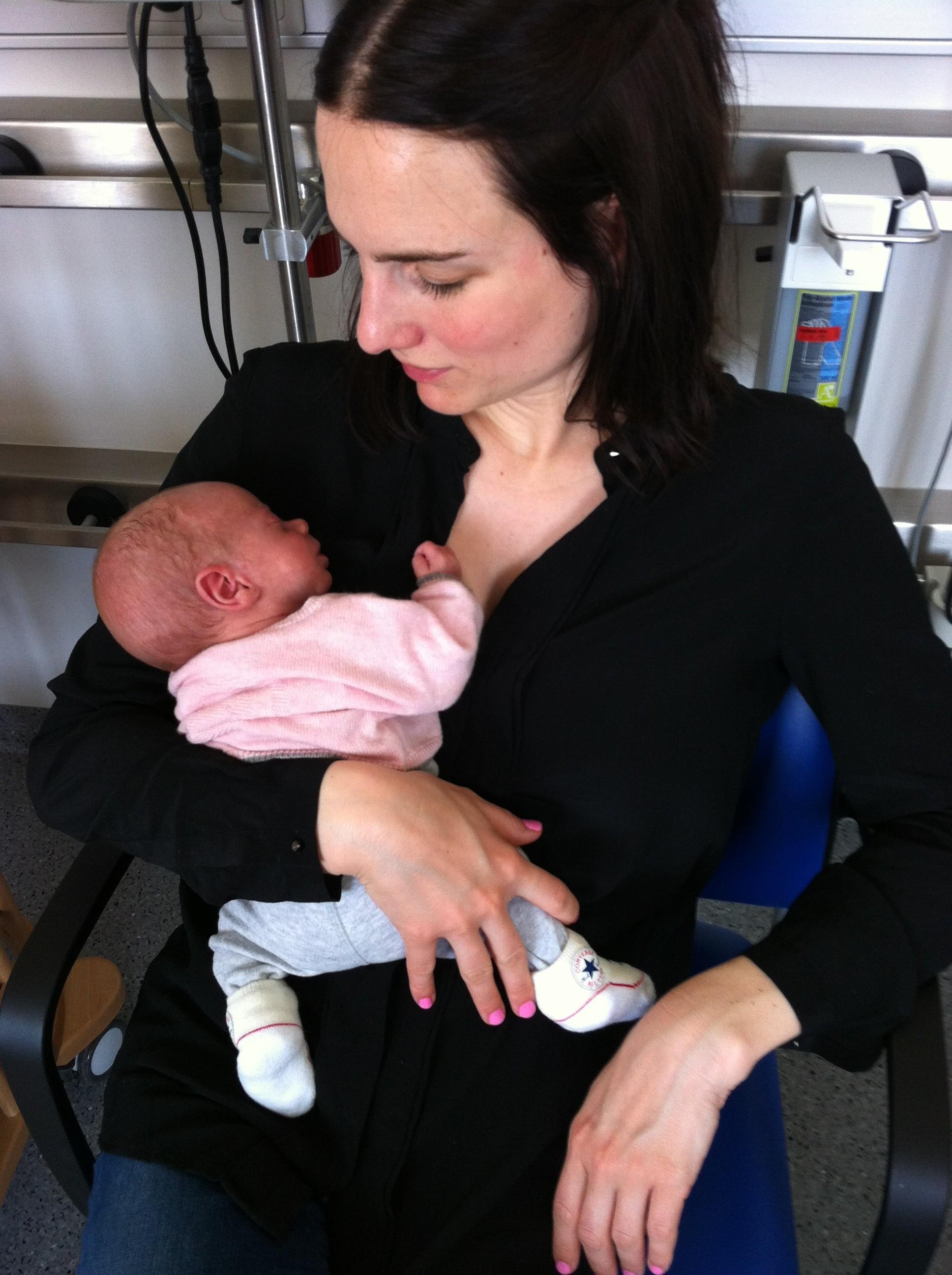 Gast-Mummy Lilian mit Tochter Matilda bei The Day That auf Mummy Mag