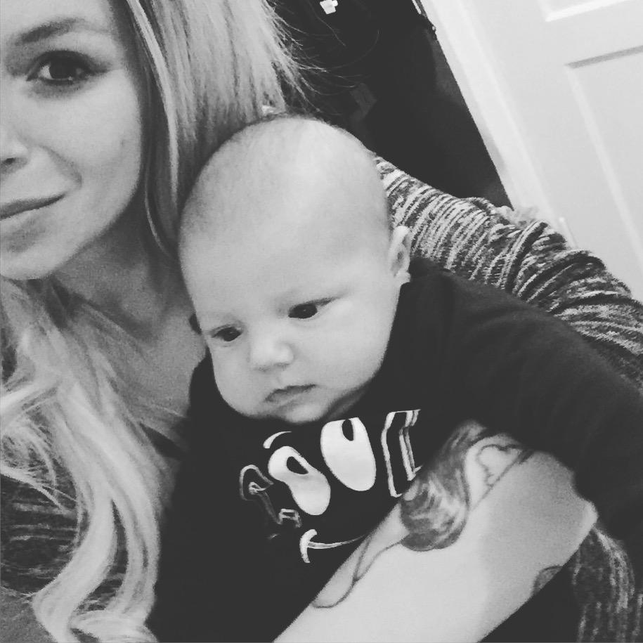 Maja und Baby Alvin bei The Day That… auf Mummy Mag