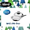 1. Advent <br> Gewinnt eine HotPan Strukturbodenpfanne <br> von AMC