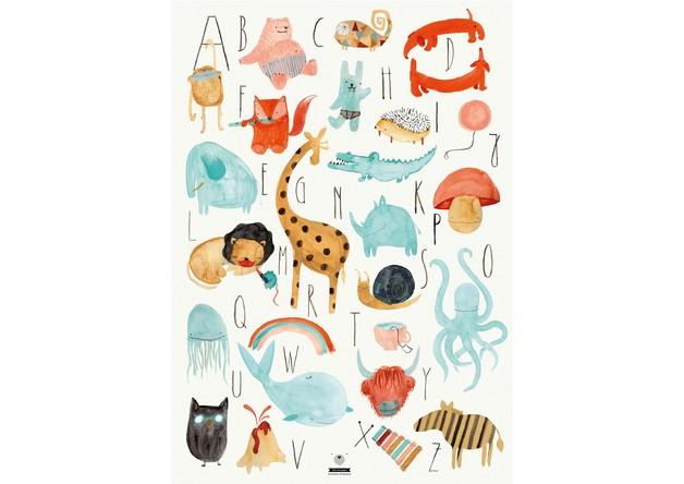 Poster Für Kinderzimmer   Die Schonsten Abc Poster Mummy Mag
