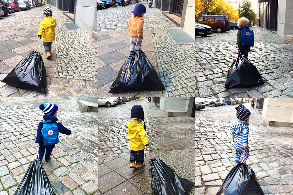 Das Kind mit dem Müllsack <br> Auf wessen Mist ist das gewachsen?