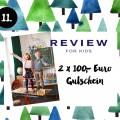11. Türchen: <br> Gewinnt 2×100 Euro <br> für REVIEW for Kids