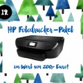 19. Türchen <br> Gewinnt ein Drucker-Set von HP