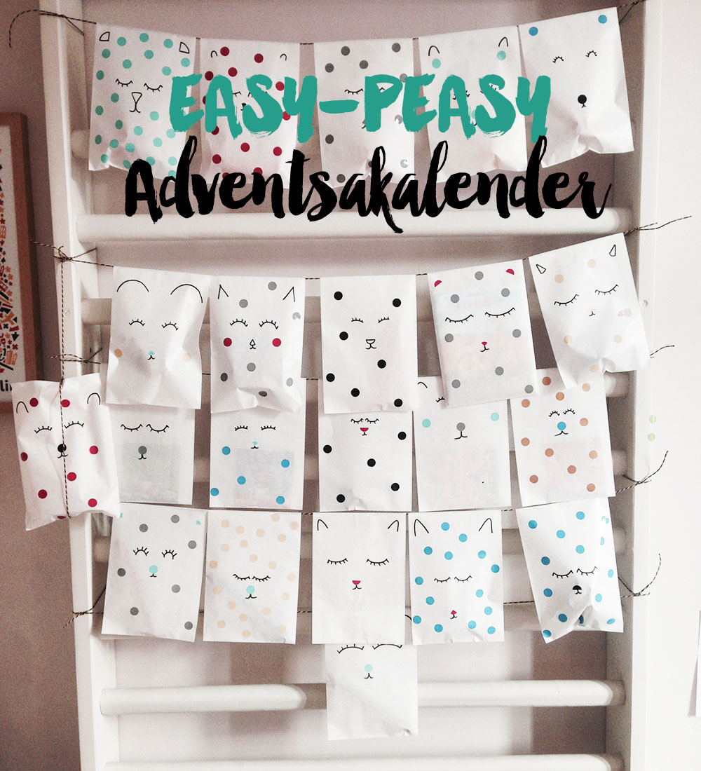 diy easy peasy adventskalender mummy mag. Black Bedroom Furniture Sets. Home Design Ideas