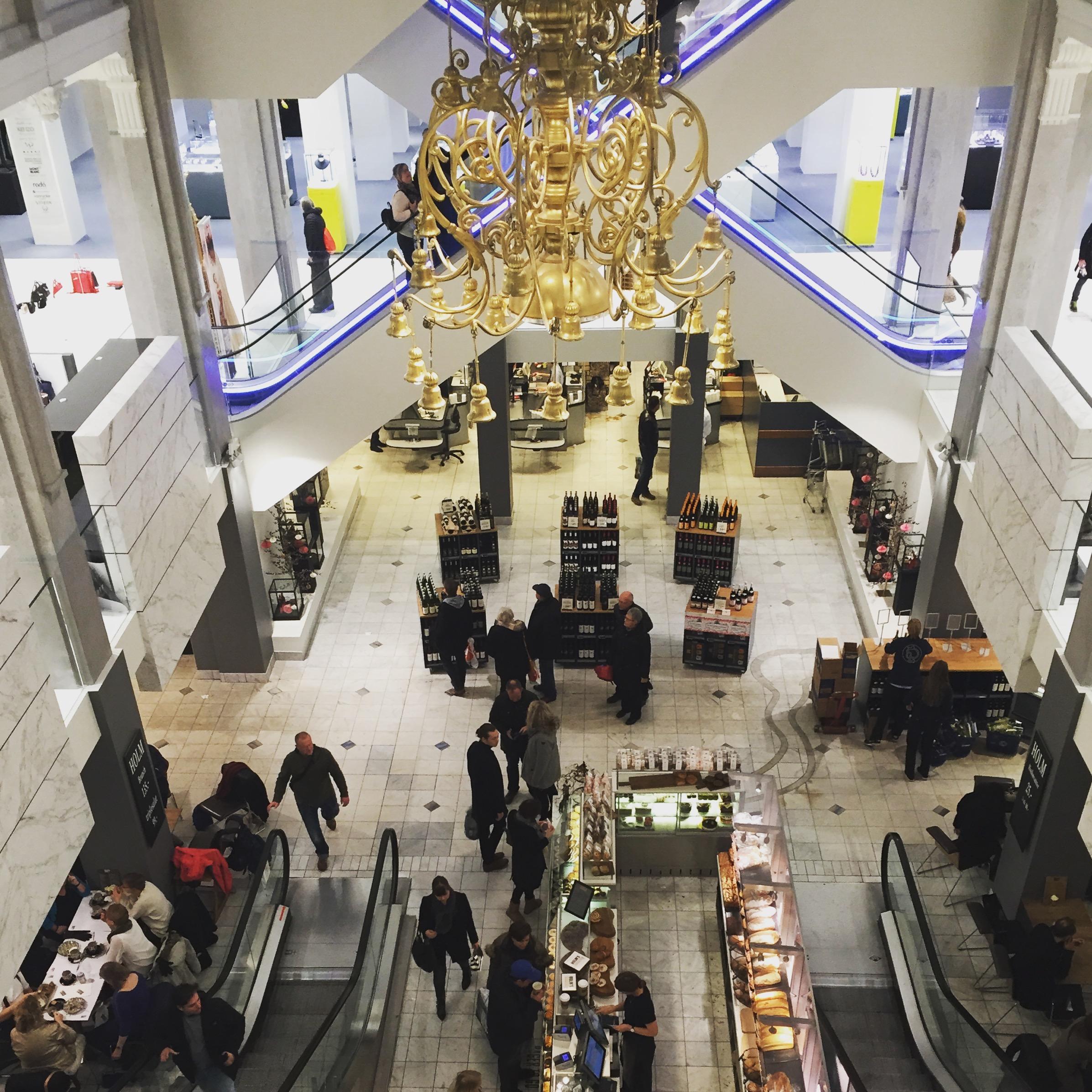 Shopping Centre in Kopenhagen bei Mummy Mag