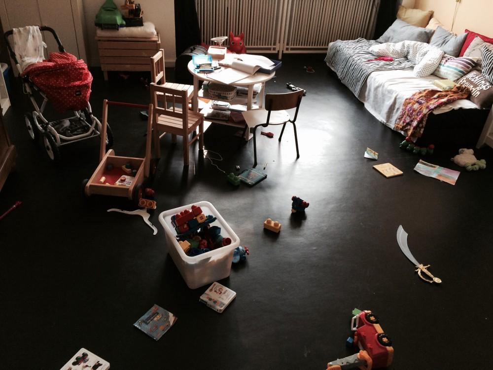Alltag einer Mutter _Kinderzimmer