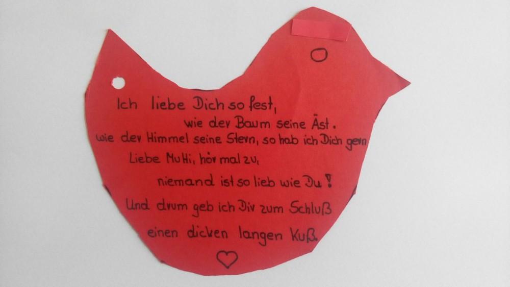 Gedicht zum Muttertag