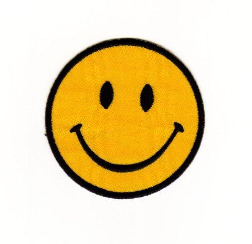 Smiley Patch für DIY auf Mummy Mag-uL