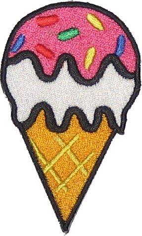 Eiscreme Patch für DIY auf Mummy Mag-uL