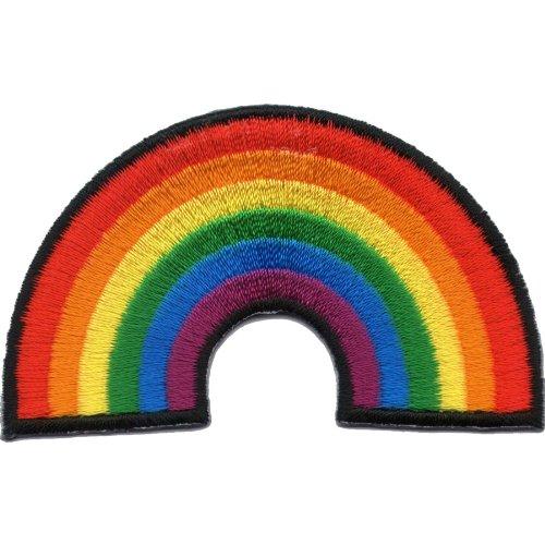 Regenbogen Patch für DIY auf Mummy Mag-uL