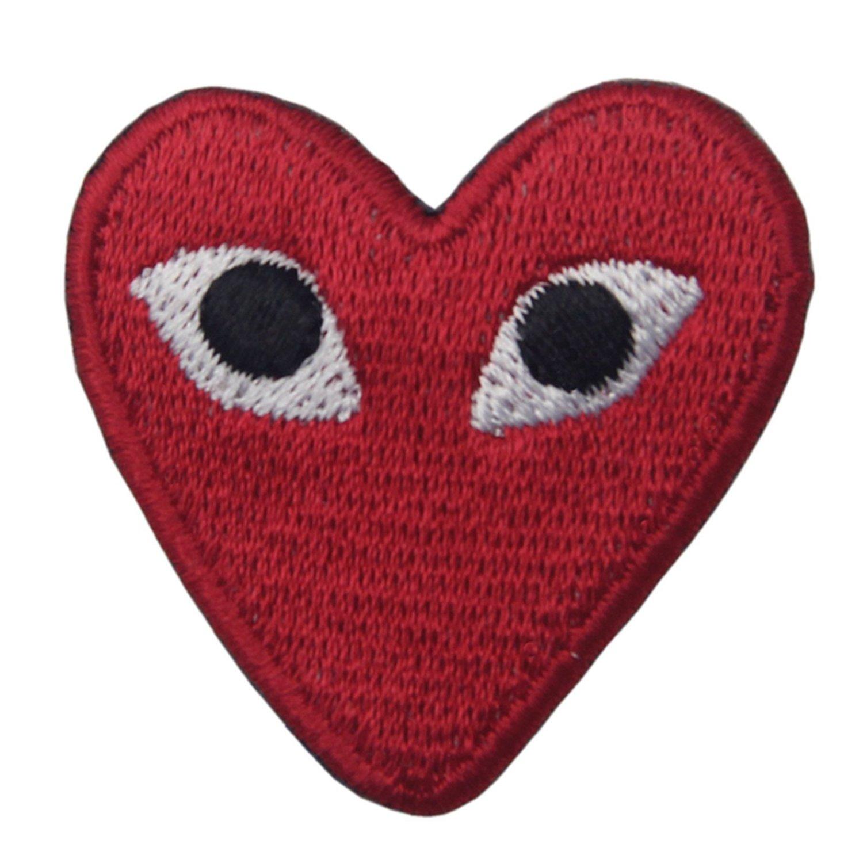 Comme des Garcons Herz Patch für DIY auf Mummy Mag-uL