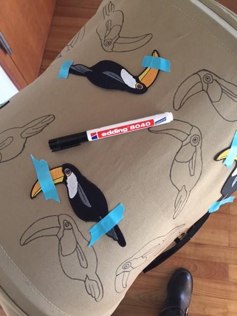 DIY Mini Rodini Patches goes Koelstra Buggy  #3