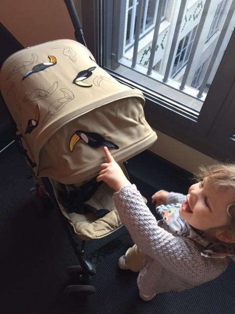 DIY Mini Rodini Patches goes Koelstra Buggy