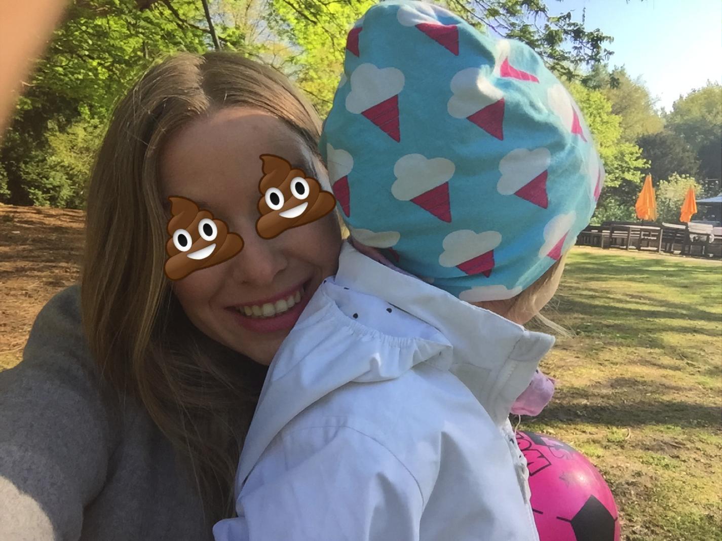 Madeleine sieht braun bei Mummy Mag ABC K wie Kacke