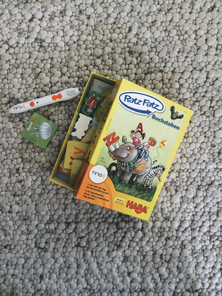 Empfehlenswerte Kinderspielsachen Ting Stift
