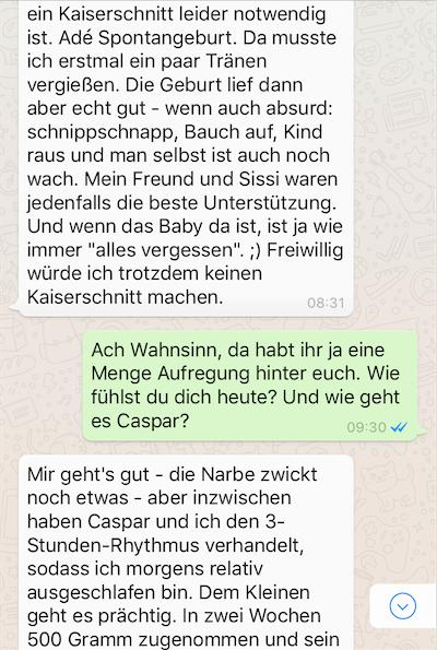 Susann Hoffmann EDITION F WhatsApp Interview Mummy Mag 2