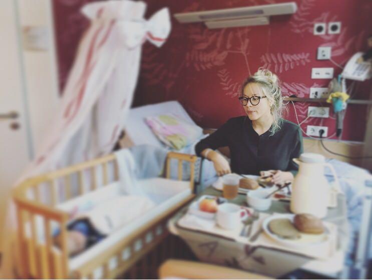 Susann Hoffmann <br> Die EDITION F Gründerin über die Geburt und die ersten Tage mit Baby