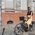 Janine Dudenhoeffer Mummy Mag schwanger Fahrrad
