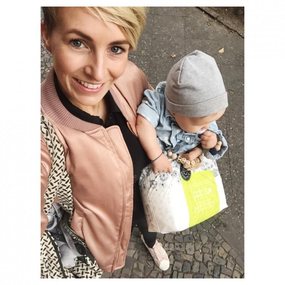 Miriam Jacks mit Sohn Noah MUMMY MAG
