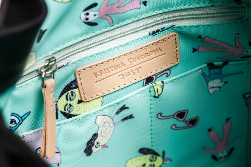JOST X-Change Bag mit Design von Kristina Suvorova