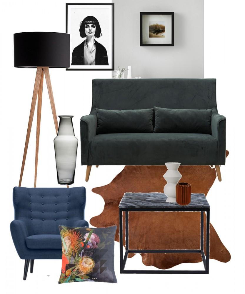 Zu Besuch bei Miriam Jacks <br> Das Wohnzimmer-Nachstyling