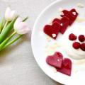 Pancakes von Herzen <br> Zum Valentinstag