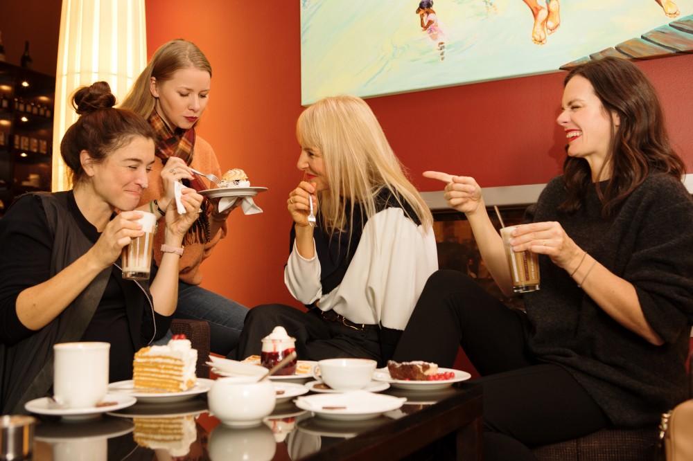 Kuchen essen A-Rosa Travemünde