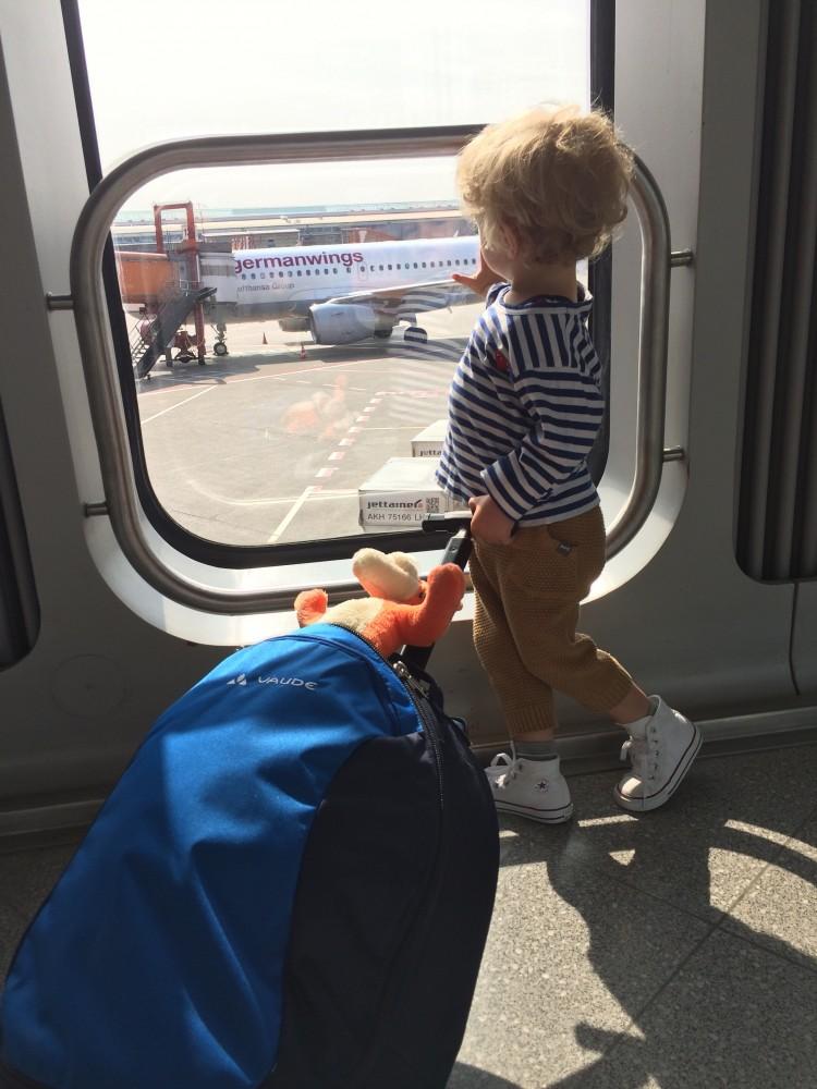 Reisen mit Kindern - Fliegen