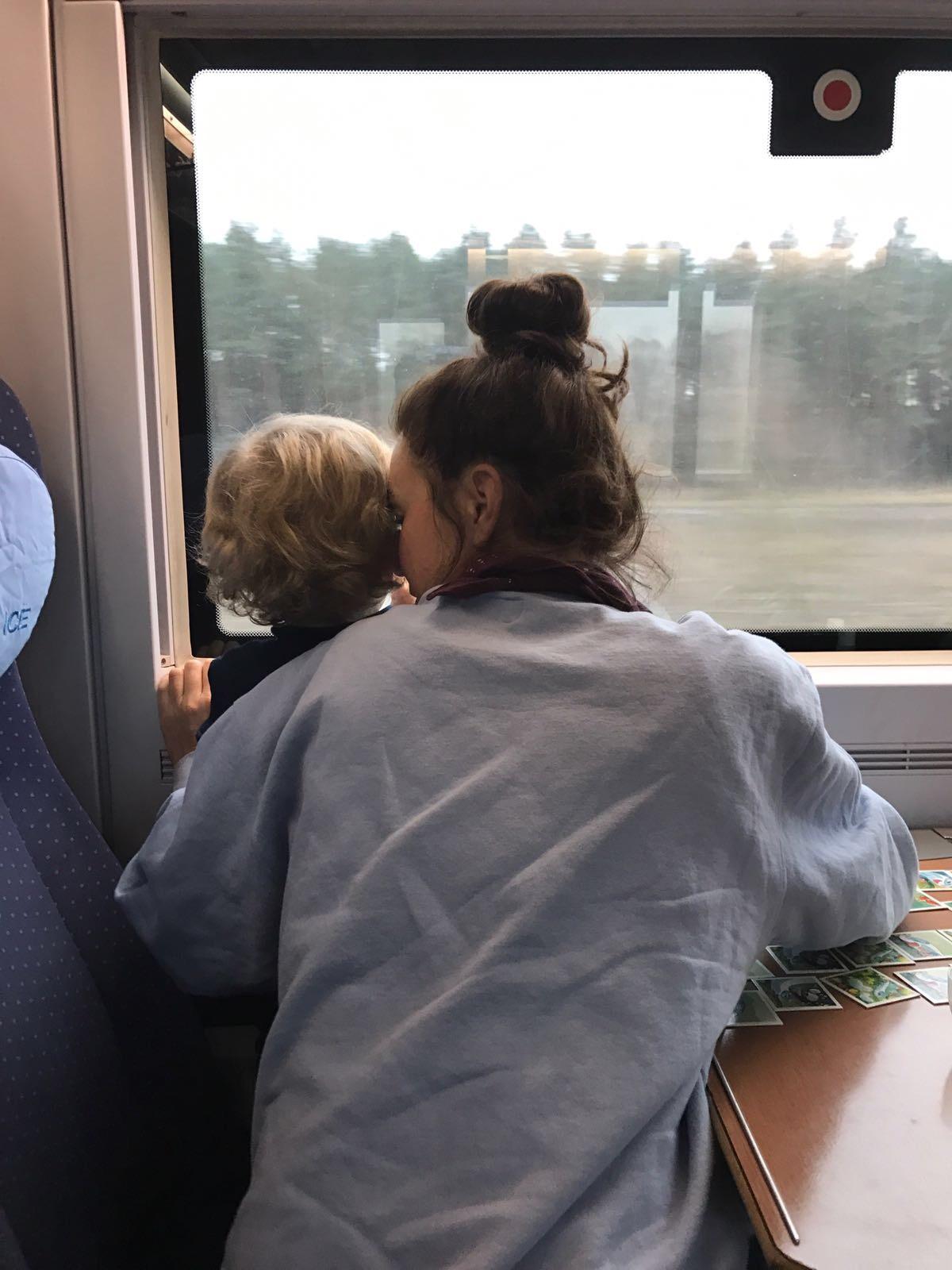 Reisen mit Kindern Zug