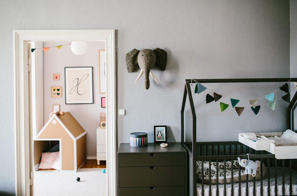 Home sweet home <br> Die Baby-Ecke