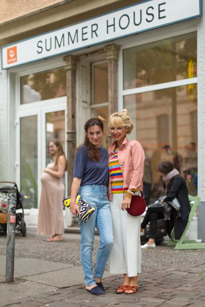 Janine und Saskia Stylingevent Stokke KDG MUMMY MAG