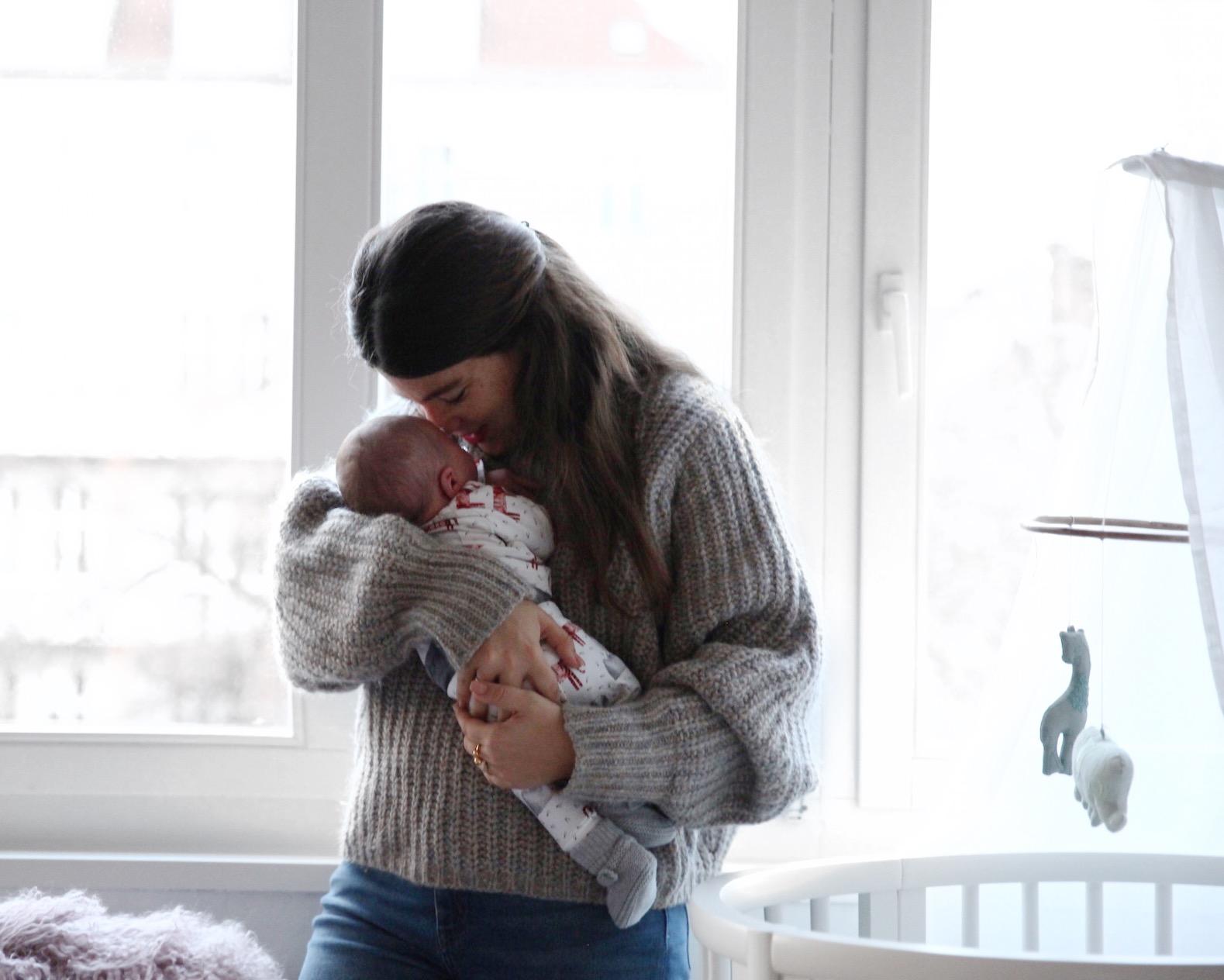 Jessie Weiß über den Alltag <br> und das Arbeiten mit Baby