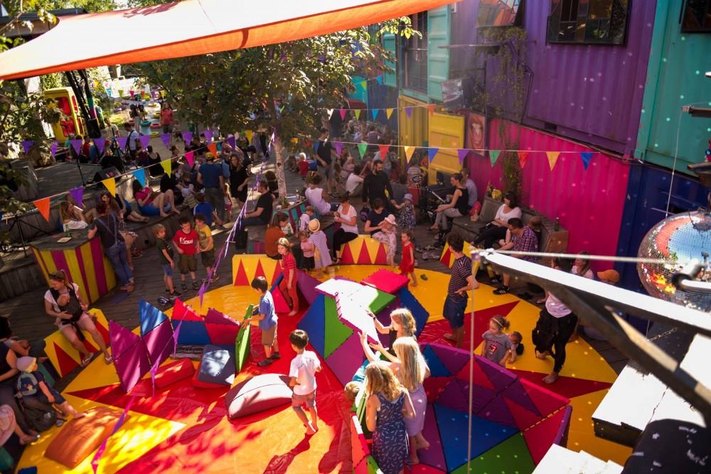 Zwergstadt Kidzparty – Ferienauftakt mit Bambule!