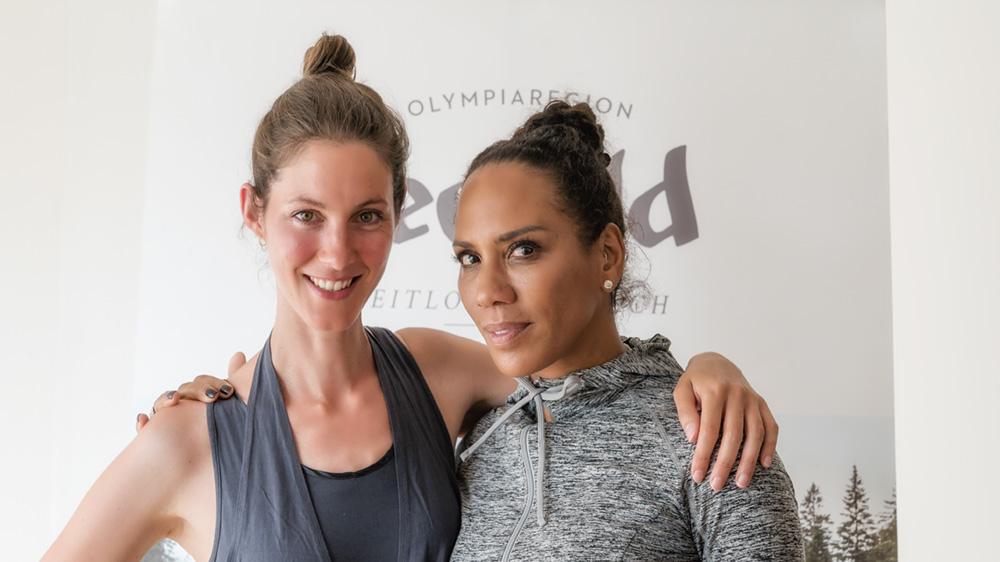 3Yogawoche in Seefeld mit Barbara Becker_ Yoga_9 (c) Stefan Wolf für Olympiaregion Seefeld