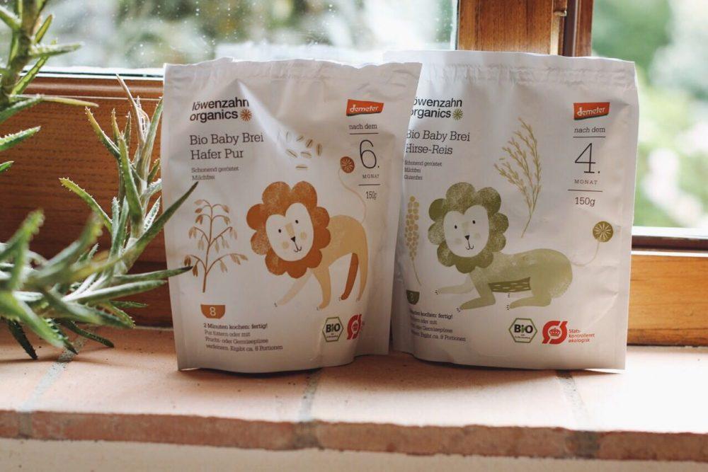 Loewenzahn Organics Bio Babybrei Hafer